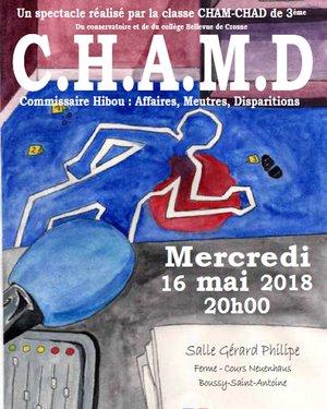 Carte blanche CHAM-CHAD
