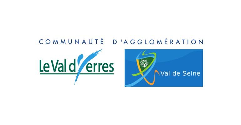 Fond flou : La Communauté d'agglomération Val d'Yerres Val de Seine est née !