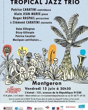 Concert « Tropical Jazz Trio »