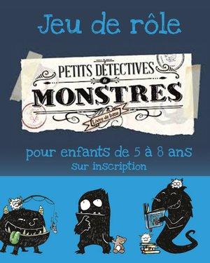 """Jeu de rôle """"Petits détectives de monstres"""""""