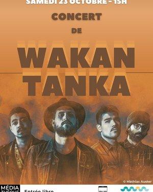 Concert de Wakan Tanka