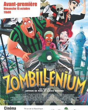 """Cinéma """" Zombillénium """" Avant-première film enfants"""