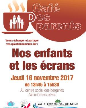 Café des Parents : Nos enfants et les écrans