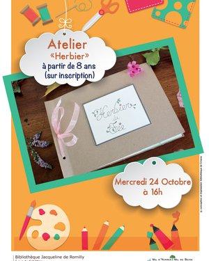 """Atelier """"Herbier"""""""