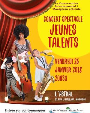 Concert Spectacle Jeunes Talents