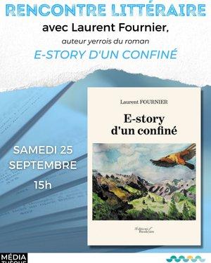 Café littéraire avec Laurent Fournier