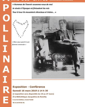 """Exposition """"Guillaume Apollinaire"""""""
