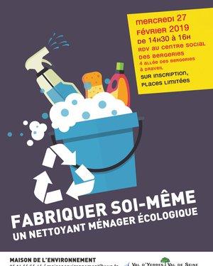 Fabriquer soi-même un nettoyant ménager écologique