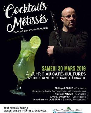 Cocktails Métissés : Concert aux rythmes épicés