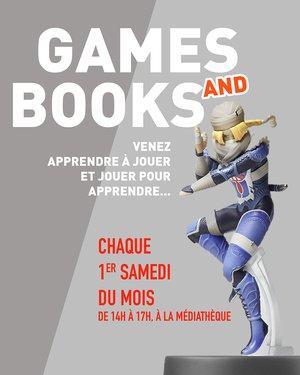 Games and Books : Venez apprendre à jouer et jouer pour apprendre...