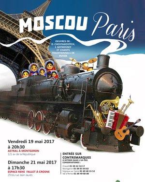 MOSCOU-PARIS, concert communautaire