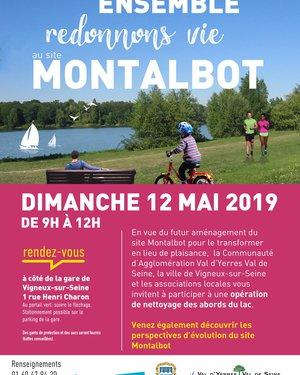 Nettoyage des abords du Lac Montalbot à Vigneux-sur-Seine