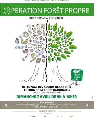 "Opération ""Forêt propre"""