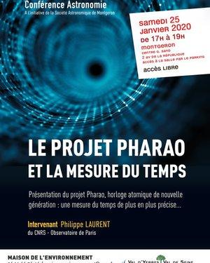 Le projet Pharao et la mesure du temps