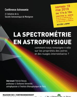 La spectrométrie en astrophysique: comment nous renseigne-t-elle sur les propriétés des astres et des nuages interstellaires?