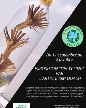Exposition Upcycling de la plasticienne Kim Quach
