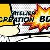 """image de l'événement : Atelier """"Création de bande-dessinée"""", perfectionnement partie 1/2"""