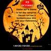 image de l'événement : Décore ton sac de bonbons pour Halloween