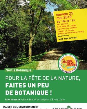Pour la fête de la nature, faites un peu de botanique!