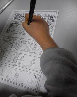 """Atelier """"Création de bande-dessinée"""", initiation partie 2/2"""