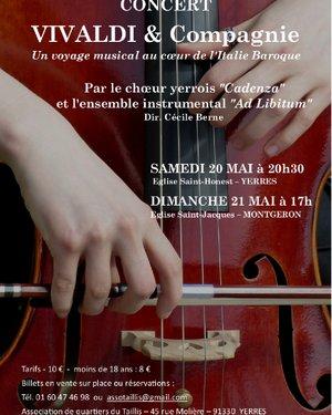Concert Vivaldi et Compagnie