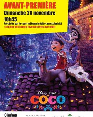 Séance Ciné Jeunesse : Avant-Première de « Coco »