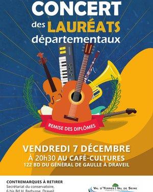 Concert des lauréats départementaux