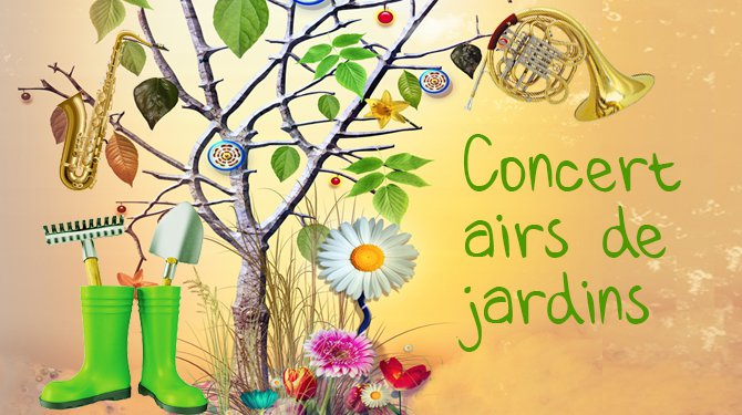"""Concert """"Airs de jardins et scènes de potagers"""""""