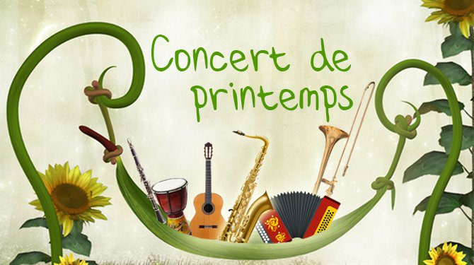 """Concert de printemps """"Autour de musiques russes"""""""