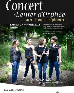 Concert « L'enfer d'Orphée »