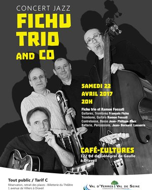 Concert Jazz « Fichu Trio and CO »