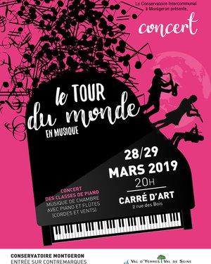 Concert : Le tour du monde en musique