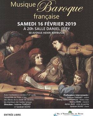 Concert : Musique Baroque Française