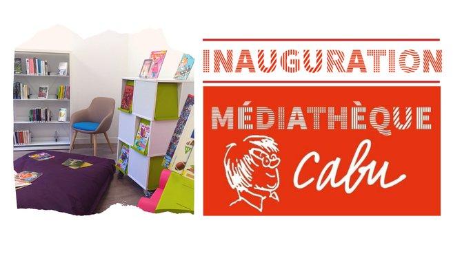 Inauguration Médiathèque Cabu