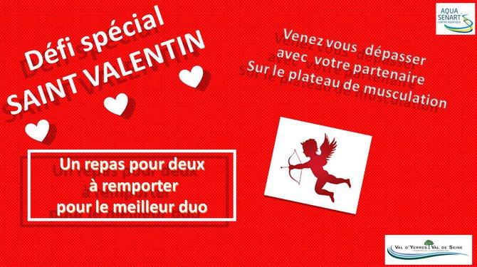 Journée spéciale Saint Valentin à l'Aquasénart
