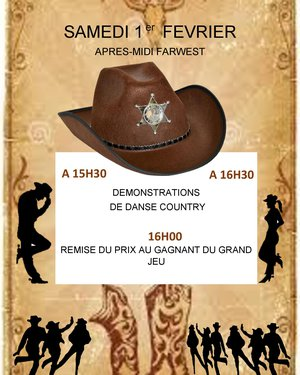 Remise de prix du Grand jeu Western