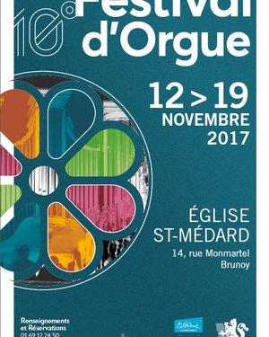 10 ème festival d'orgue de Brunoy