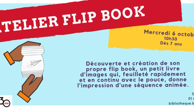 FÊTE DE LA SCIENCE - Atelier Fip Book