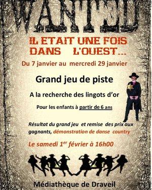 """Grand jeu Western """"A la recherche des lingots d'or"""""""