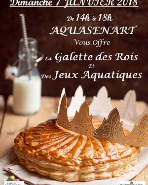 Aqua Sénart offre la galette des rois !