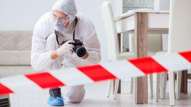 """""""Avec la gendarmerie scientifique"""""""