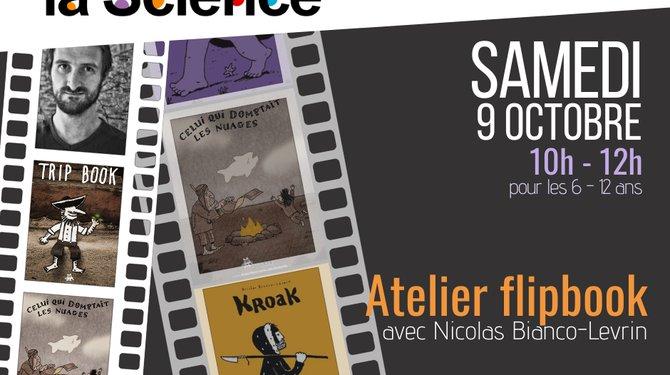 FETE DE LA SCIENCE - Atelier Flipbook