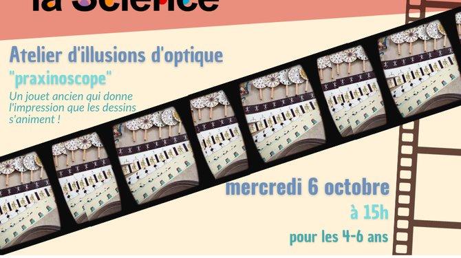 FETE DE LA SCIENCE - Atelier paxinoscope
