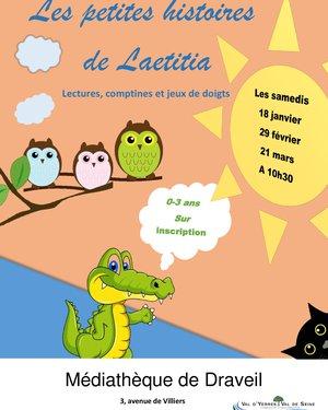 Les petites histoires de Laëtitia