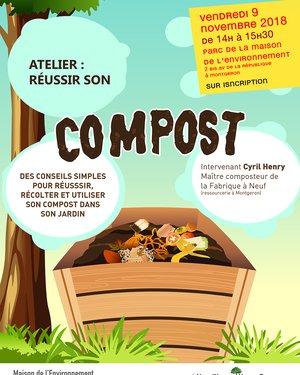 Atelier : Réussir son compost