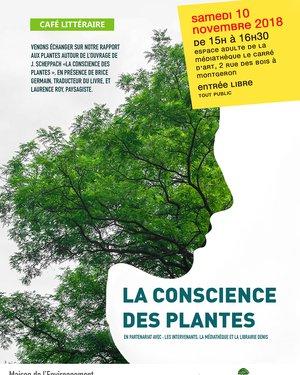 Café Littéraire : « LA CONSCIENCE DES PLANTES »