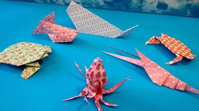 Mes p'tites créations, spécial origami !
