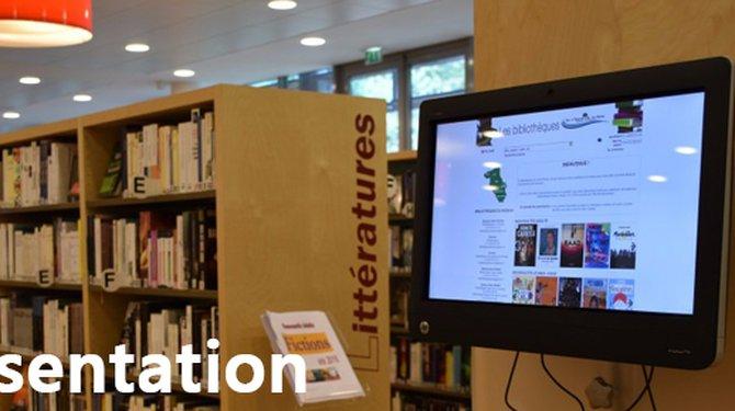 """""""Le site internet des bibliothèques"""""""
