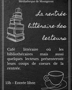 Café (de la rentrée) littéraire