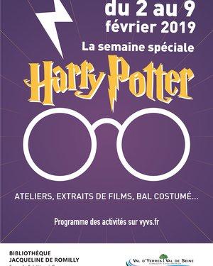 Semaine spéciale Harry Potter